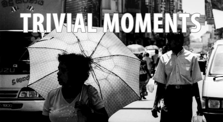 Trivial Moments by Tetsu Ozawa
