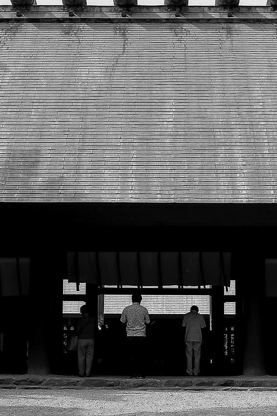熱田神宮の参拝客