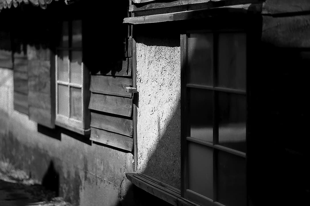 常滑の古い木造家屋