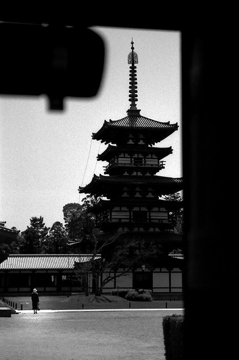 east pagoda in Yakushi-Ji