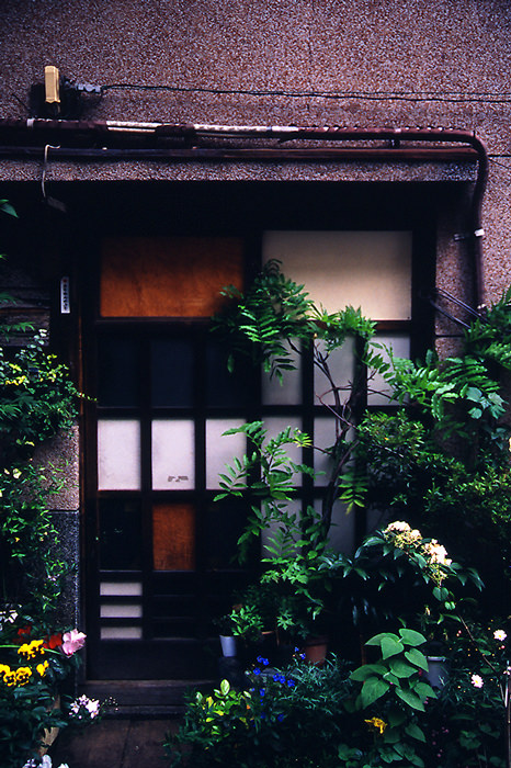 Entrance With A Glass Door (Tokyo)