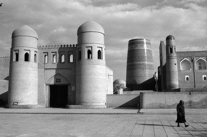 West Gate Of Khiva (Uzbekistan)