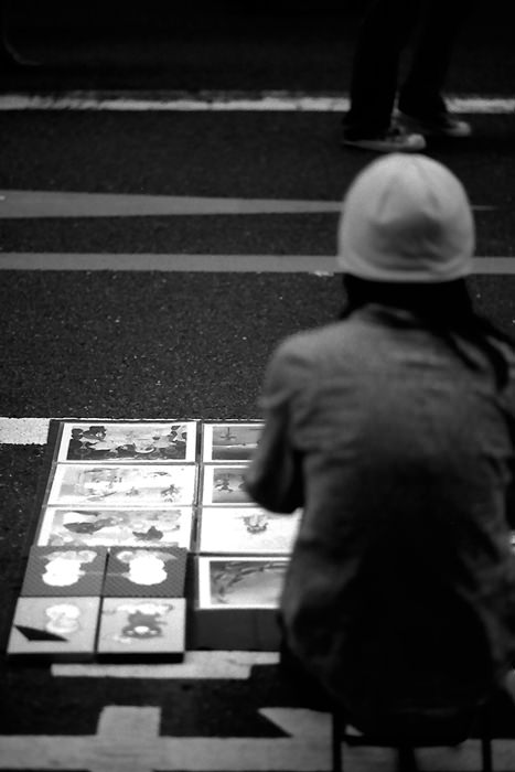Works Selling On The Road (Tokyo)