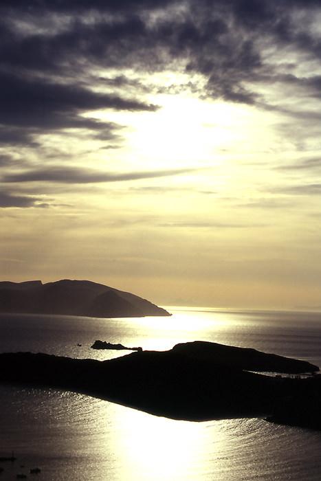 イオス島の夕陽