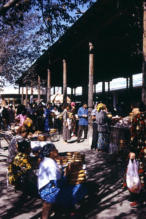 Local market in Samarkand