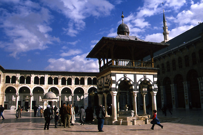Great Mosque Of Damascus (Syria)