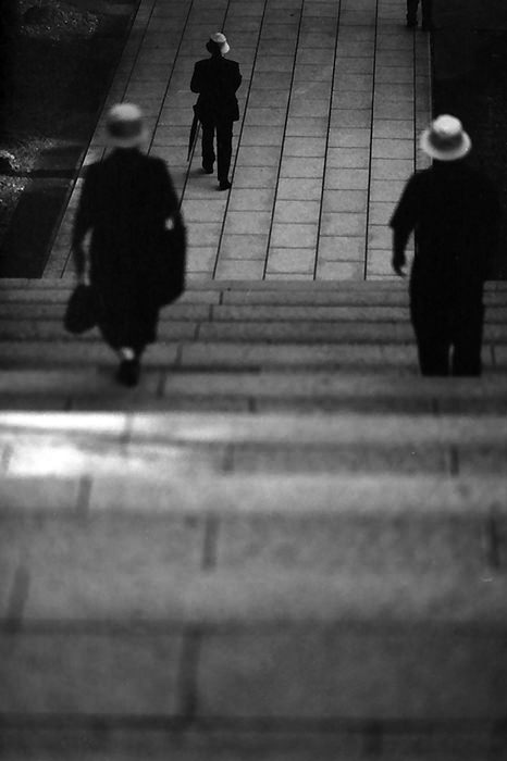 Three Persons With Hat (Tokyo)