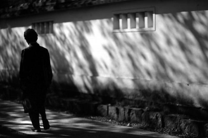 Figure Beside The Wall (Kanagawa)