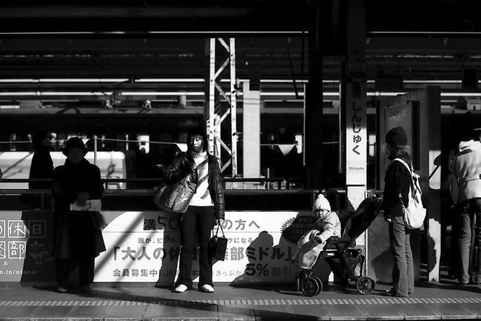 Baby On The Platform (Tokyo)