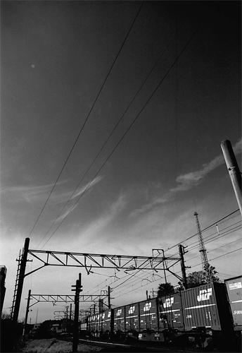 Freight Train Was Running @ Chiba