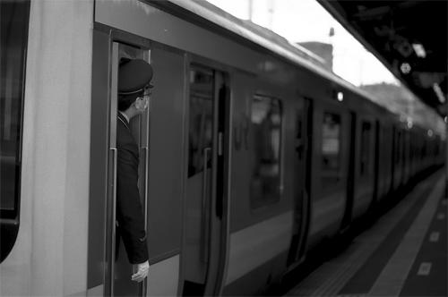 Conductor Of Sobu Line @ Tokyo