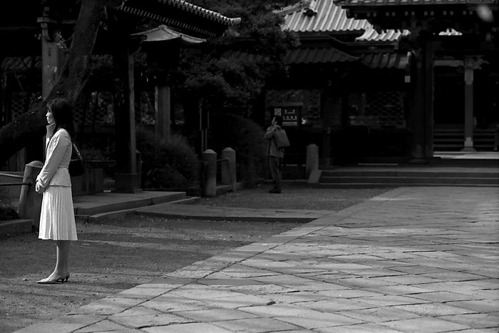 Lady In A Shrine (Tokyo)