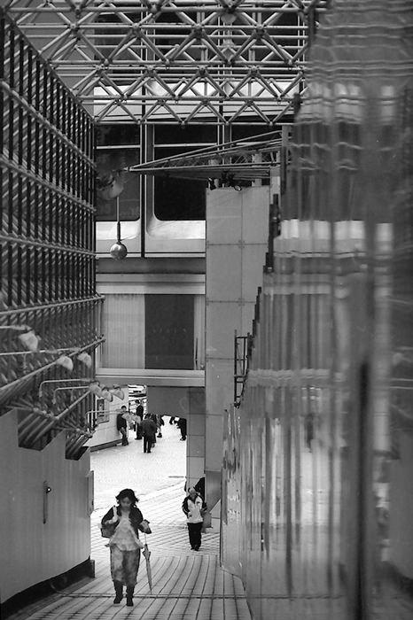 Narrow Street Between Walls (Tokyo)
