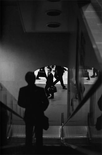 Figure On The Escalator @ Tokyo