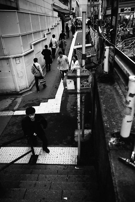Entrance Of A Pedestrian Subway (Tokyo)