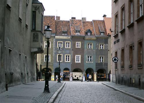Gray Cityscape In Poznań @ Poland