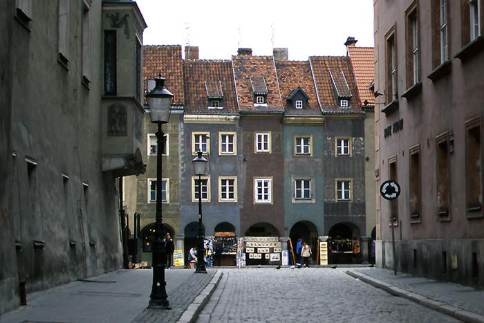 Gray Cityscape In Poznan (Poland)