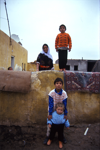 A Family In Harran @ Turkey