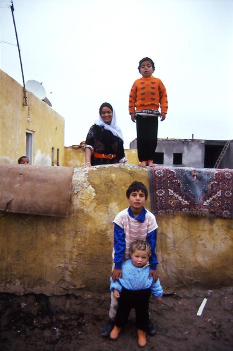 Family In Harran (Turkey)