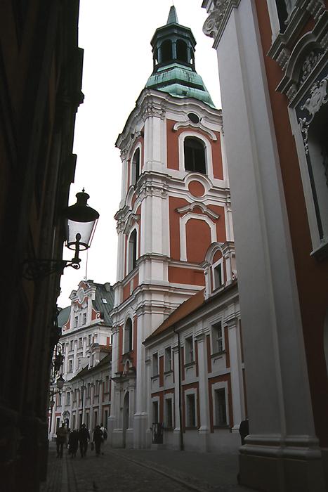 Fara church in Poznań