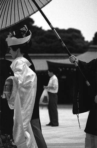 A Bride Under The Umbrella @ Tokyo
