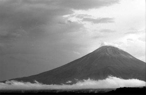 Mt.Fuji And Clouds @ Yamanashi