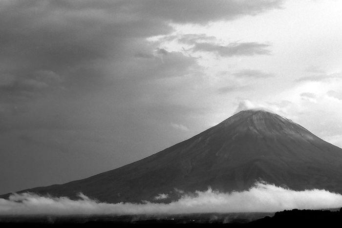 Mt.Fuji And Clouds (Yamanashi)