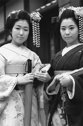舞妓のふたり @ 京都