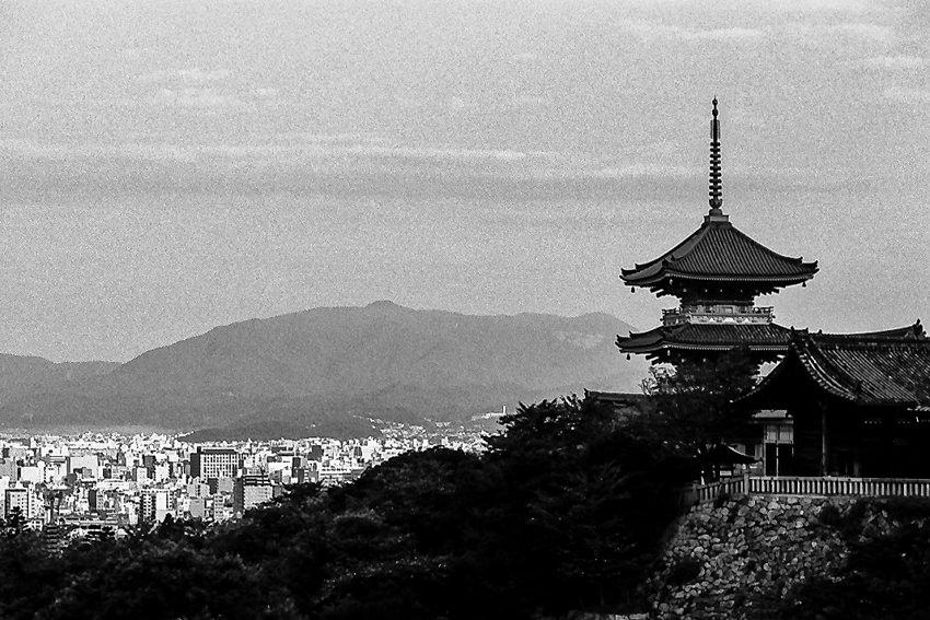 Three storied pagoda in Kiyomizudera