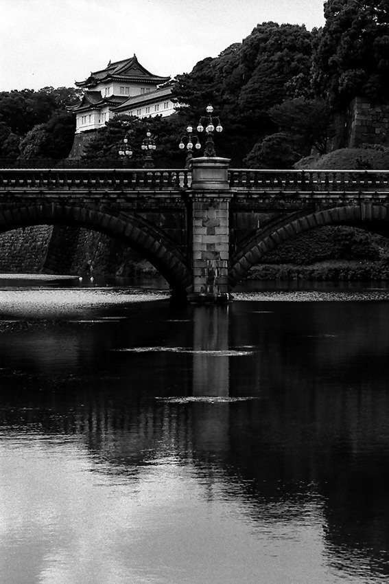 stone bridge in imperial palace