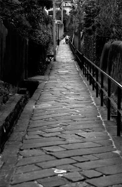 Narrow Steep Slope @ Nagasaki