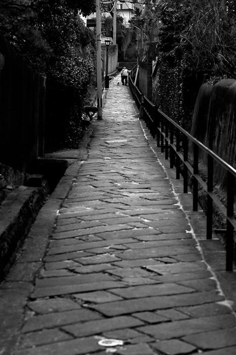 Steep Slope Called Dondon-Zaka (Nagasaki)