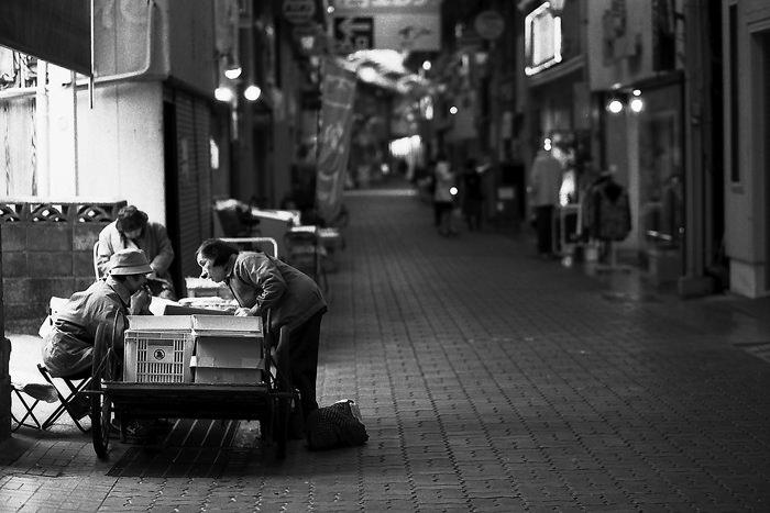 shopping avenue in Shimabara