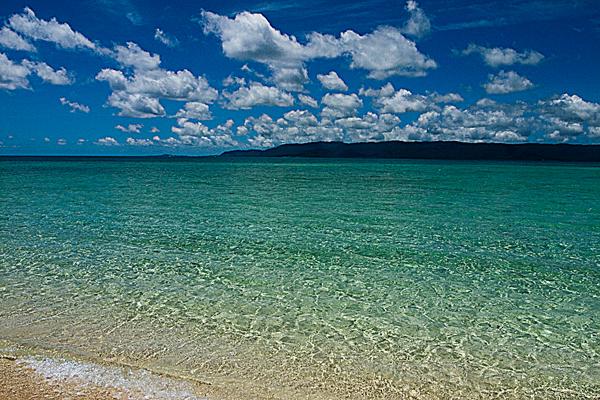 Blue Ocean In Hatoma Island (Okinawa)