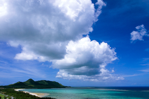 Clouds On The Bay (Okinawa)