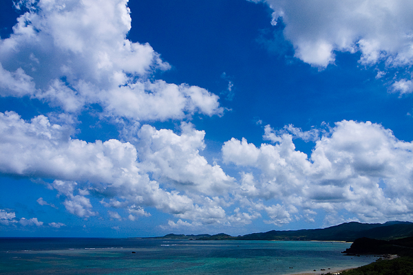 Clouds Above The Blue Ocean (Okinawa)