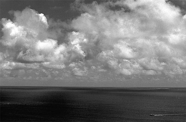 Sailing Ship On The Dark Sea (Okinawa)