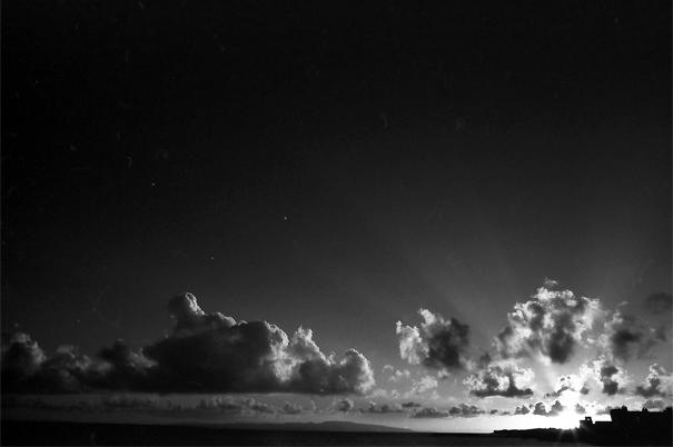 Clouds Shined By Sunset In Ishigaki (Okinawa)