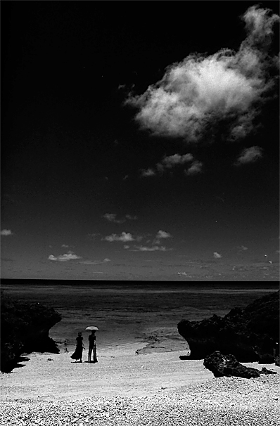 Couple In Pehama Beach (Okinawa)