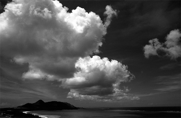 Aestival Clouds Above The Bay (Okinawa)