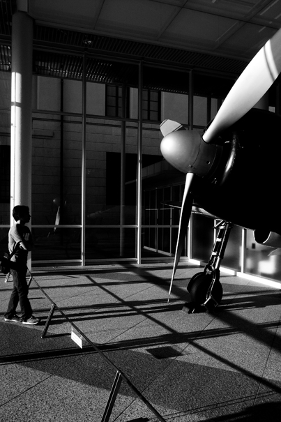 Propeller Of Zero Fighter And Man (Tokyo)
