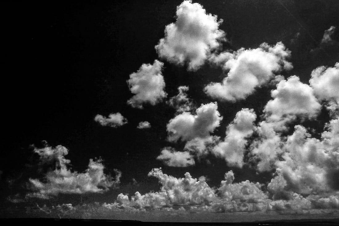 Clouds in Kanonzaki cape