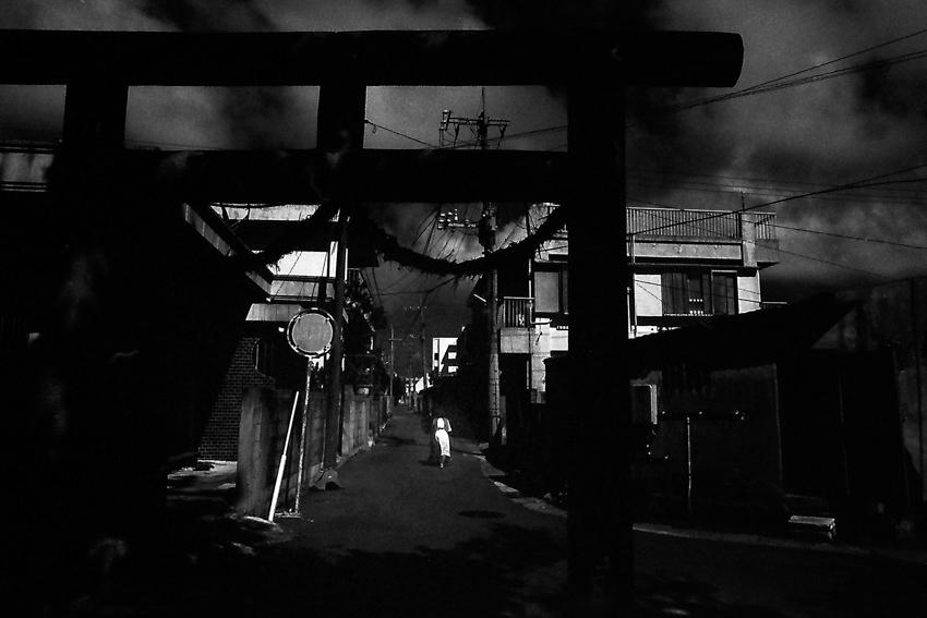 長崎御嶽の鳥居