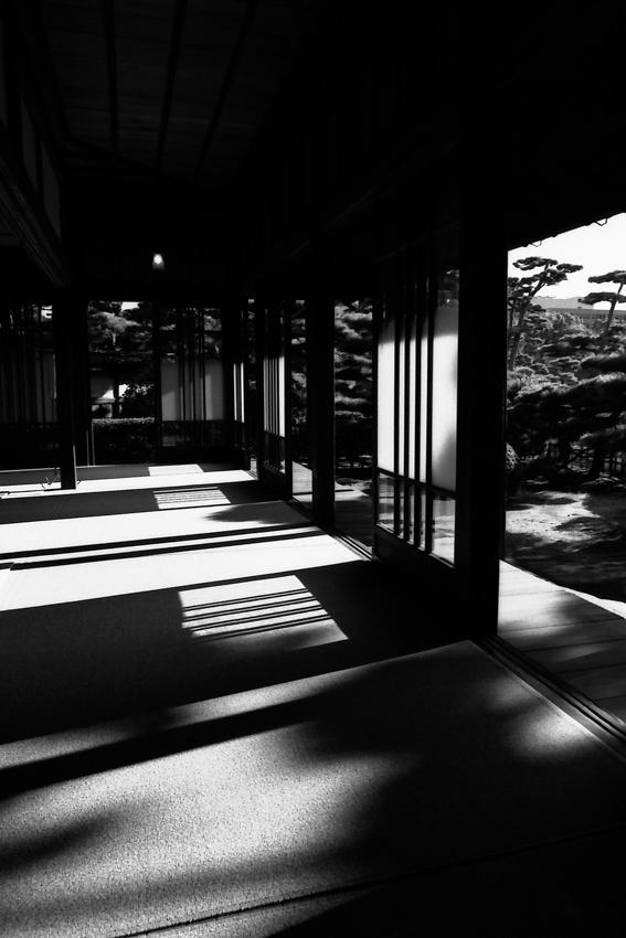 玉藻公園にある披雲閣の和室