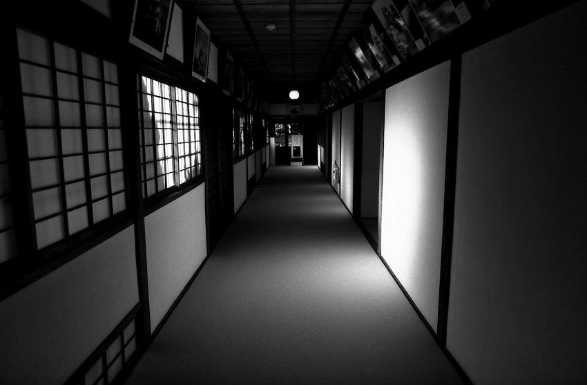 Corridor in Hiunkaku