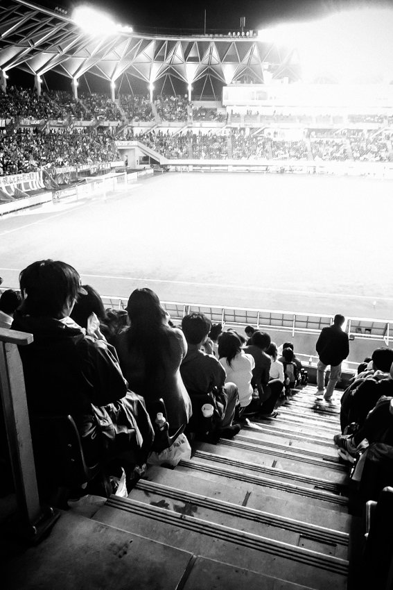 Staircase in Fukuda Denshi Arena