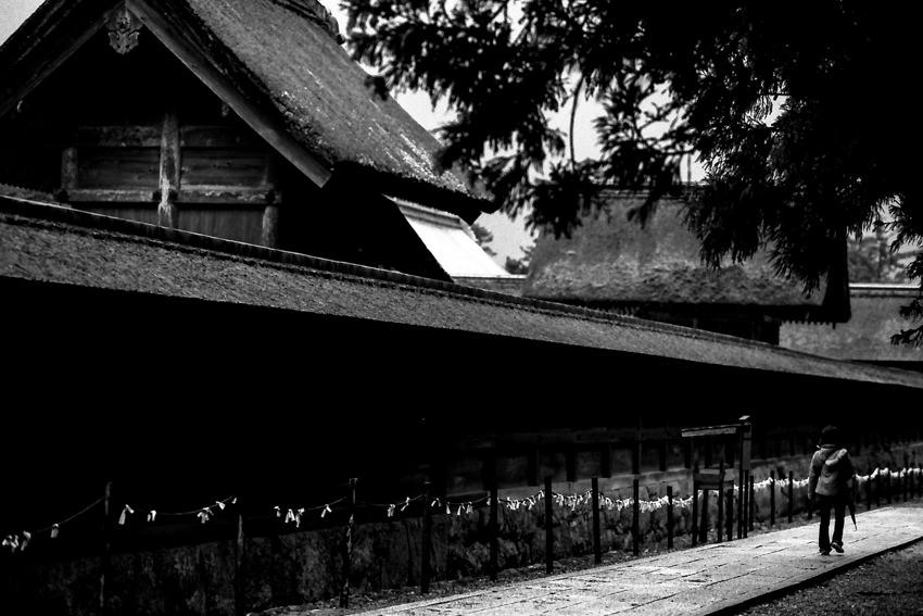 Path beside main hall