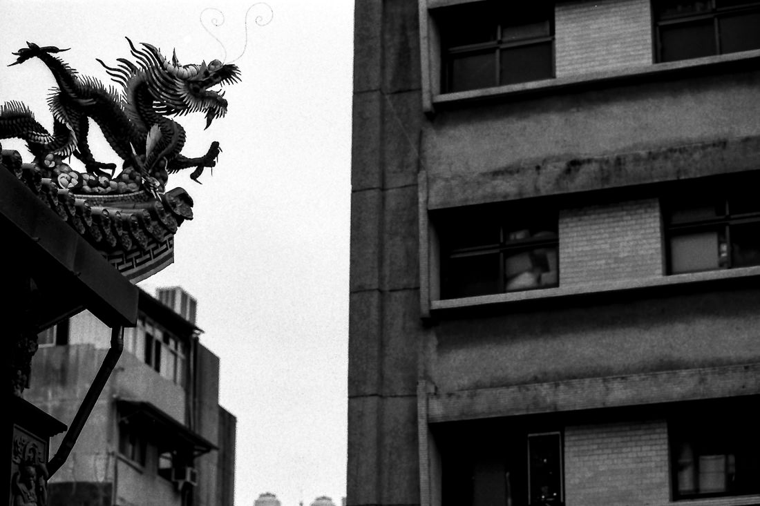 dragon and apartment