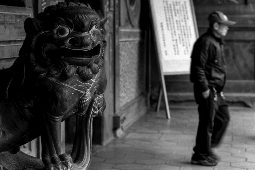 保安宮の狛犬