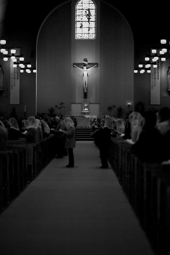 mass in Urakami Cathedral